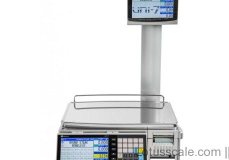 Label printing-Ishida - UNI-7 Pole Version Label Printing